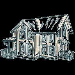 Referenzen. Hochwertiges Holz wird in hochwertige Holzbauten verarbeitet.